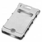 Wonderful iNox Stainless Steel iPhone 4/4S Case - Silver
