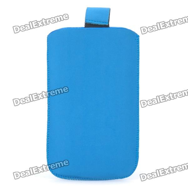 Protective PU Pouch for Iphone 3g/3GS/4/4S - Blue