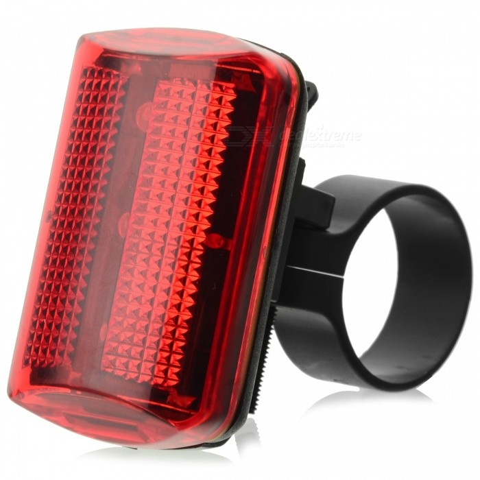 3-Mode 3-LED Red Light Bicycle Tail Lamp (2 x AAA) caoku hy ld208 5 led red light bike safety tail light red 2 x aaa