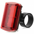 3-Mode 3-LED Red Light Bicycle Tail Lamp (2 x AAA)