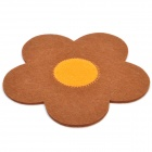 Cute Flower Style Cotton Cup / Bowl Heat Insulation Pad (Random Color)