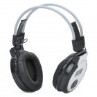 "1.2"" LCD Rechargeable MP3 Player Stereo Headphone with FM / 3.5mm Audio / TF Slot - Black + Grey"