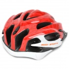 Cool Sports Cycling Helmet - Red + White