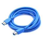 USB 3.0 AM to BM Printer Cable - Blue (3M-Length)