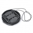 58mm Digital Camera Lens Cap Cover - Negro