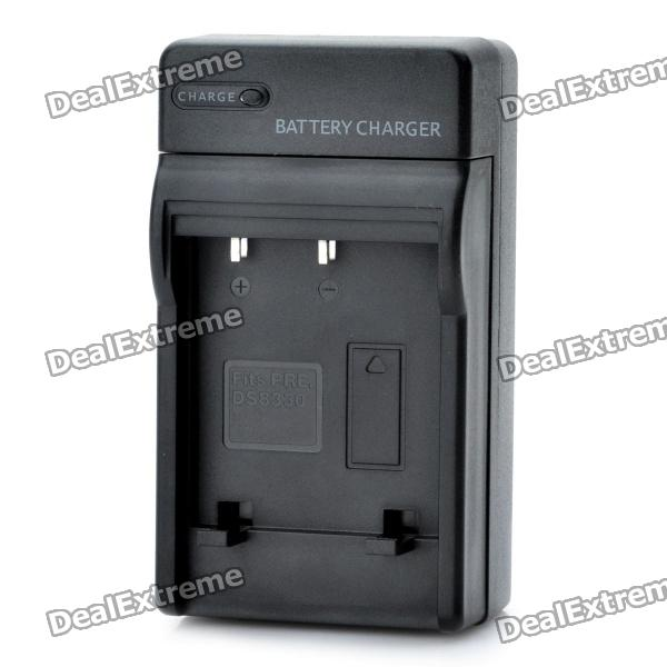 AC Battery Charger Cradle for Premier DS-8330 Battery (100~240V) camera battery charger for sony fc10 fc11 ac 100 240v 2 flat pin plug