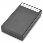 High Capacity 9800mAh Rechargeable External Battery - Black