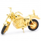 Creative Motorcycle Style Butane Lighter - Golden