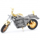 Creative Motorcycle Style Butane Lighter - Golden + Coffee