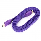 Full HD 1080P HDMI V1.4 Male to Male Flat Cable for Xbox 360 / PS3 / HD Media Player (153cm)