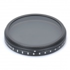 New-View Variable Neutral Density ND2-400 Fader Filter for DSLR Camera (52mm)