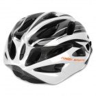 Cool 18 Vents Sports Cycling Helmet - Black + White