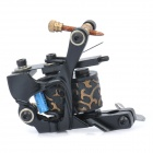 Professional Steel Tattoo Machine Liner Shader Gun - Black