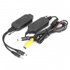 Universal 2.4G Wireless Transmitter + Receiver for Car Rearview Camera (GPS IN)