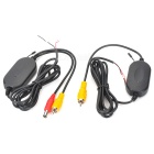 Universal 2.4G Wireless Transmitter + Receiver for Car Rearview Camera (AV IN)