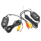 Universal 2.4GHz Wireless Transmitter + Receiver for Car Rearview Camera (AV IN)