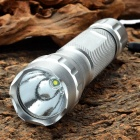 UltraFire WF-501B R5 1-Mode 350LM 1-LED White Light Flashlight with Strap - Silver