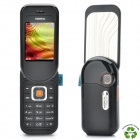 Refurbished Nokia 7373 GSM Cellphone w/ 2.0 TFT LCD, Triple Band, JAVA and FM - Black