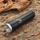 1-Mode 180LM 1-LED White Light Flashlight with Strap - Black (1 x 14500)