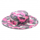 Outdoor Round Edge Cap Hat - Camouflage Pink (Size fits all)