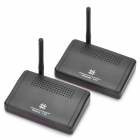 2.4GHz Wireless AV Transmitter & Receiver - Black