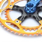 AEST YRC170-02 Aluminum Bike Crank - Golden + Blue