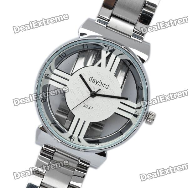 Fashion Stainless Steel Quartz Wrist Watch (1 x LR626)