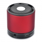 Mini USB Rechargeable Bluetooth V2.1 Music Speaker - Red