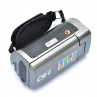 "2.7"" TFT LCD CMOS 8MP Digital Video Camera w/ SD/Mini USB/AVout - Silver Grey"