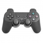 2.4GHz Wireless Dual-Shock Game Controller Joypad for PS2 - Black (2 x AAA)