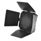 4-Leaf Honeycomb Grid Camera Barndoor w/ 4 Color Chips - Black