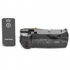 Vertical External Battery Grip + Car Charger + Remote Controller for NIKON D300/D700/D300S