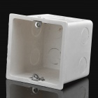 86 Wall Mount Switch Back Box - White (7cm Profondeur)
