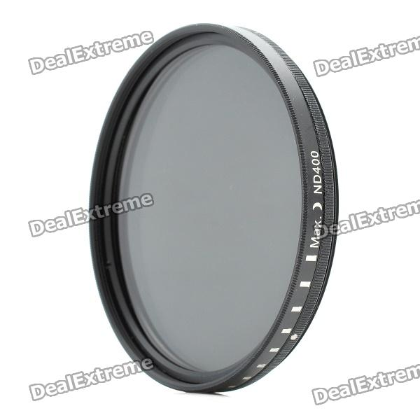 New-View Variable Neutral Density ND2-400 Fader Filter for DSLR Camera (67mm) fotga neutral density nd2 nd400 fader nd filter 72mm