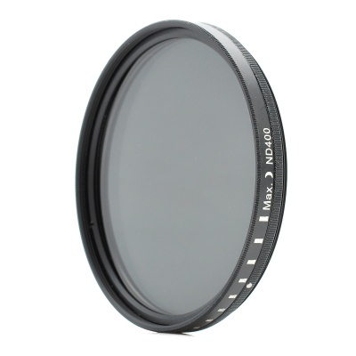 New-View Variable Neutral Density ND2-400 Fader Filter for DSLR Camera (67mm)