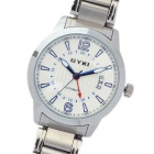 EYKI Fashion Stainless Steel Mechanical Wrist Watch - White + Silver