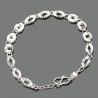 Stylish 990 Sterling Silver Bracelet (18cm-Length)