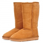 Stylish Women's Winter Warm Snow Boots Shoes - Light Brown (EUR Size-39)