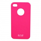 Protective PC Back Case for iPhone 4 / 4S - Deep Pink