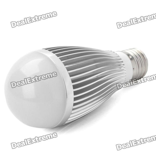 все цены на E27 7W 6500K 630-Lumen 7-LED White Light Bulb (AC 85~240V) онлайн
