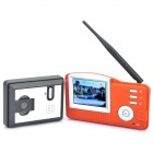 "2.4GHZ 3.5"" TFT LCD Color 0.3MP CMOS Video Door Phone with 6-LED Night Vision"