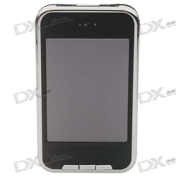 N608 iFone-Style Touch Screen LCD MP4 Player with FM and 1.3MPixel Camera (1GB + MiniSD)