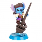 Stylish Pirate Stitch Brush Pen Holder - Blue + Purple + Coffee