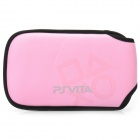 Protective Soft Cloth Pouch for PS Vita - Pink