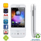 "Refurbished HTC G1 Dream Android 1.6 WCDMA Smartphone w/3.2"" Capacitive, Wi-Fi and GPS - White"