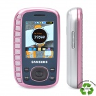 "Refurbished Samsung B3310 QWERTY GSM Phone w/2.0"" LCD Screen, Triple Band, JAVA and FM - Pink"