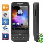 "Refurbished HTC G1 Dream Android 1.6 WCDMA Smartphone w/3.2"" Capacitive, Wi-Fi and GPS - Black"