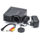 Mini Multi-Media Player LED Projector w/ USB / TF / AV-In