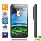 "WG1101 Android 2.3 WCDMA TV Cell Phone w/ 4.3"" Capacitive, Dual SIM, GPS and Wi-Fi - Black"