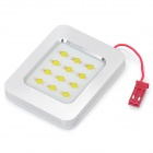 6W 8000K 280-Lumen 12-LED White Light Car Dome Lamp w/ T10 / SV85 Connectors (DC 12V)